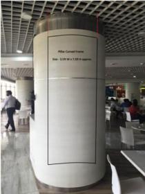 Bagmane WTC Marathalli Pillar Signage Advertising, Whitefield - Bangalore