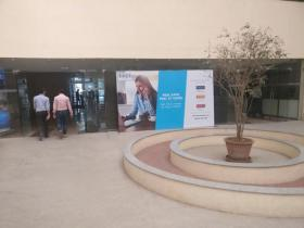 Cyberpark E-City  Indoor Signage Advertising, Bellandur - Bangalore
