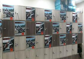 Lockers, Gold's Gym - Whitefield, Bangalore, Whitefield - Bangalore