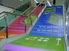 Steps, Gold's Gym - HSR Layout, Bangalore, HSR Layout - Bangalore