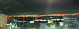 Mirror Branding, Gold's Gym - HSR Layout, Bangalore, HSR Layout - Bangalore