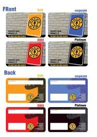 Swipe Card, Gold's Gym - HSR Layout, Bangalore, HSR Layout - Bangalore