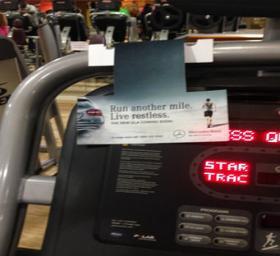 Threadmill (stickers )/cardio, Gold's Gym - Whitefield, Bangalore, Whitefield - Bangalore