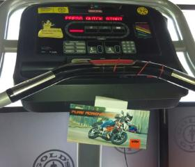 Threadmill (stickers )/cardio, Gold's Gym - HSR Layout, Bangalore, HSR Layout - Bangalore