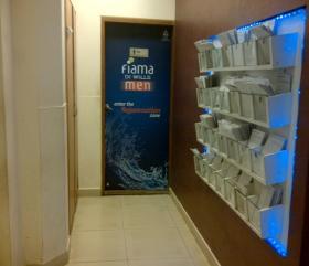 Washroom Main Door (front), Gold's Gym - HSR Layout, Bangalore, HSR Layout - Bangalore